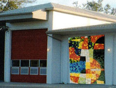 Mosaic on The Firehouse