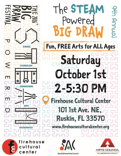 Big Draw 2016 Flyer
