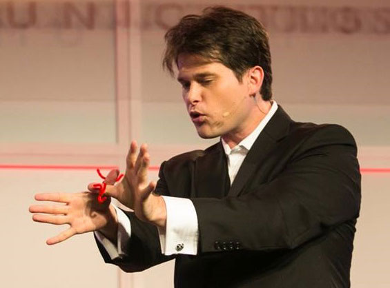 Nathan Coe Marsh, magician
