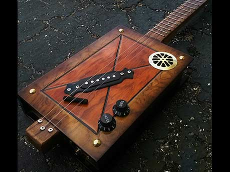 cigar box guitar workshop firehouse cultural center. Black Bedroom Furniture Sets. Home Design Ideas