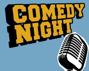 Comedy Night Graphic.