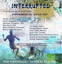 Interrupted Video Art.